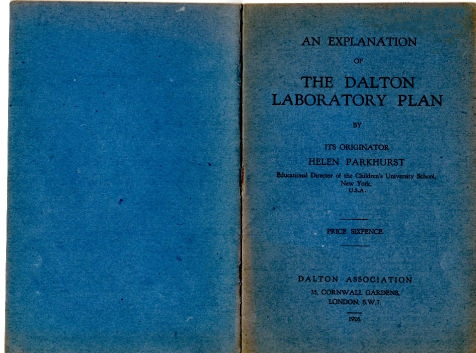 An Explanation of the Dalton Laboratory Plan